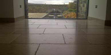 Limestone floor cleaning Yorkshire and South Yorkshire