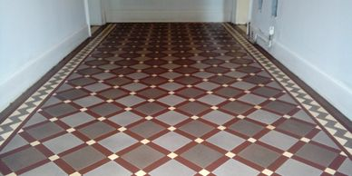 Edwardian and Victorian floor cleaning South Yorkshire