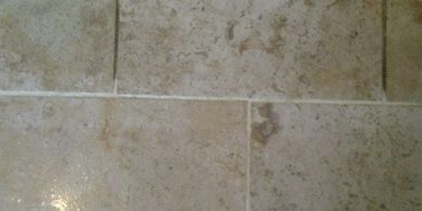 Travertine floor cleaning in Leicestershire