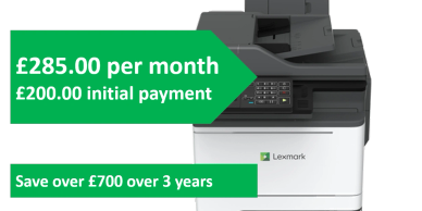 Lexmark XC2235 8000 page per month contract. Help SME customers save money and reduce costs