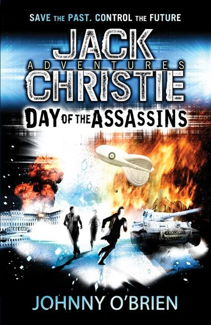 Day of the Assassins - Cover design by www.the-parish.com. Originally published by Bonnier Zaffre / Templar publishing