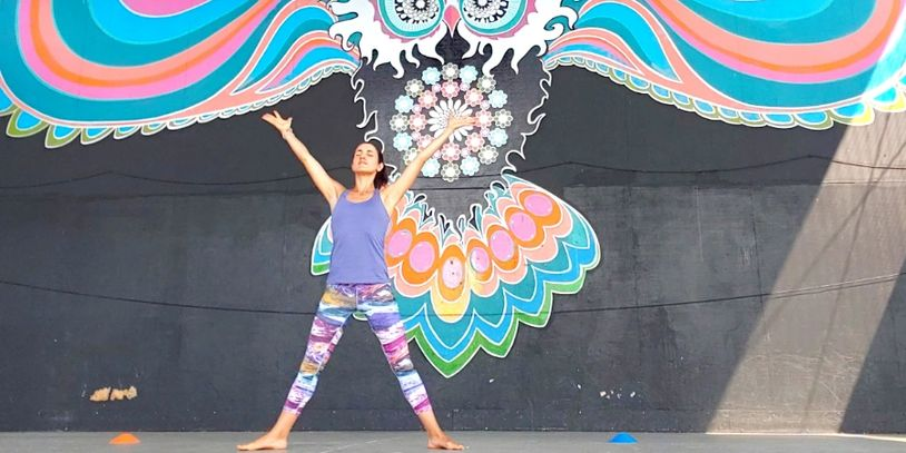Yoga Workshop in the Old Mill District at Free Spirit Yoga + Fitness + Play
