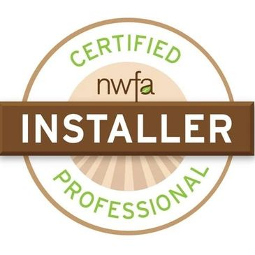 National Wood Flooring Association Certified Installer Hardwood floor installation