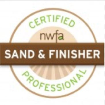 National Wood Flooring Association Certified Sand and Finisher . Hardwood floor refinishing