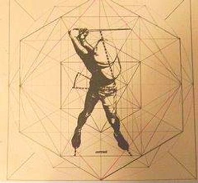 "HOGAN's CUBE -- 1995 -- Dominick Esposito, PhD -- ""LOAD THE BOW""  -- Click Image For Live Video!"