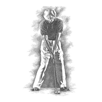 """EXACT"" BALL POSITION -- Draw Vertical To ""INSIDE"" SHOULDER & CHECK  HANDS For ""1st"" MASTER KEY!"