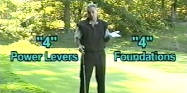"In ""Full Swing & Putting"" the body operates via ""4 Power Levers & ""4"" Foundations -- CLICK For DVDs!"