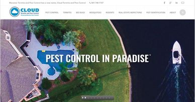 Cloud Pest Control logo