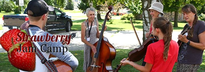 Strawberry Jam Camp offers jamming for all ages over three days of talented instructors.