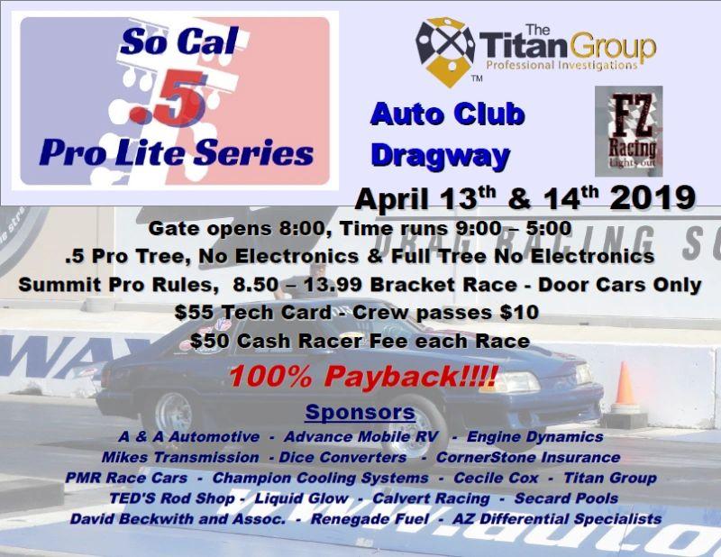 SoCal  5 Pro Lite Series