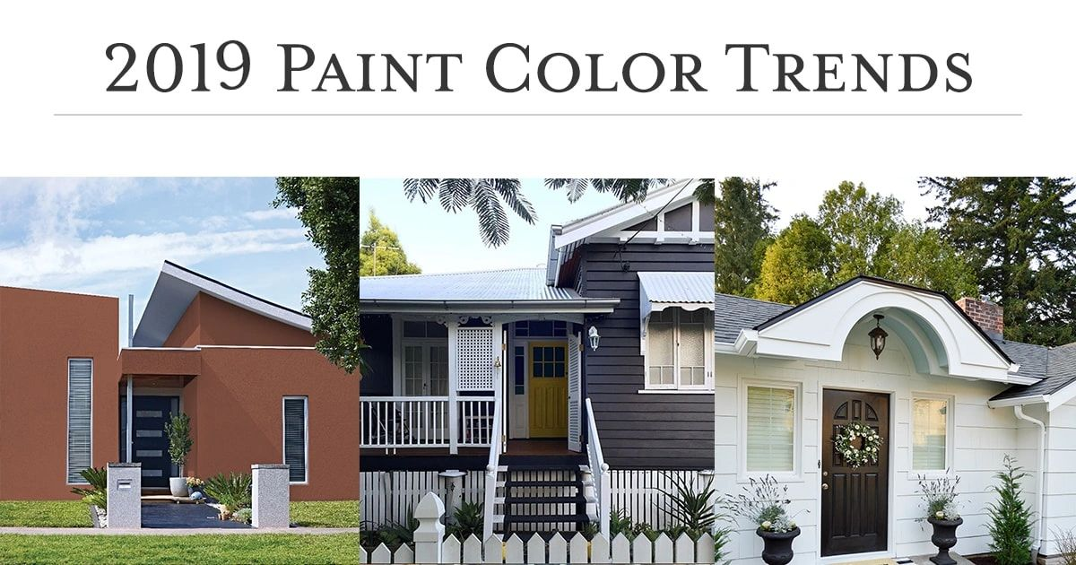 Best House Painting Color Trends of 2019