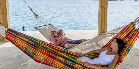 Relax just close tp the beach in a hammock!