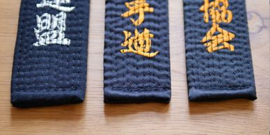 Hirota Suits and Belts. Karate Dogi and Obi made in Japan.