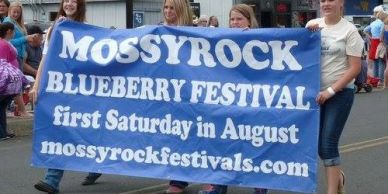 Mossyrock Blueberry Festival started by the East Lewis County Regional Chamber of Commerce