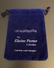 Sale Price $32 Comes to you in a velveteen pouch,  A beautiful Gift to give or to keep!