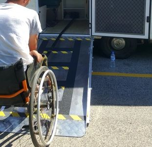 Caravan Modifications, wheelchair ramps, caravan ramps, Accessavan