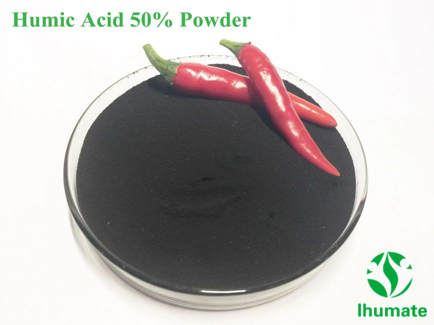 Humic acid 50% powder for basic fertilizer - Ihumate