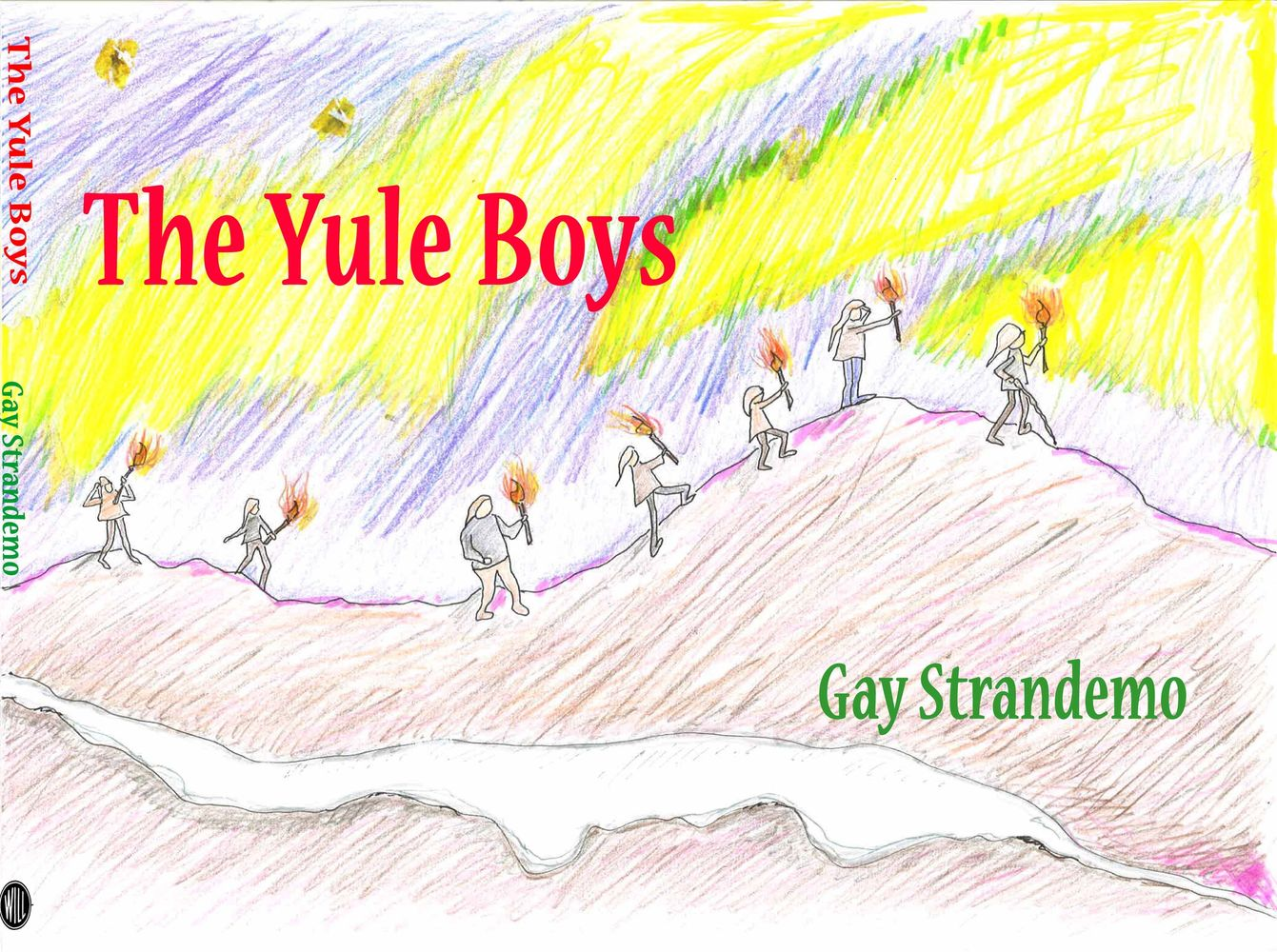 The Yule Boys cover illustrated and written by Gay Strandemo.