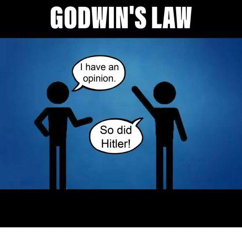 Bilderesultat for godwin's law