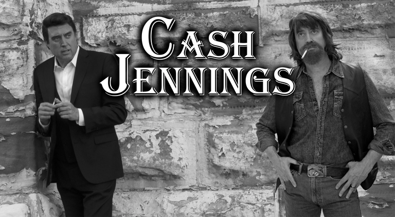 Gray Sartin does a tribute to both Johnny Cash and Waylon Jennings