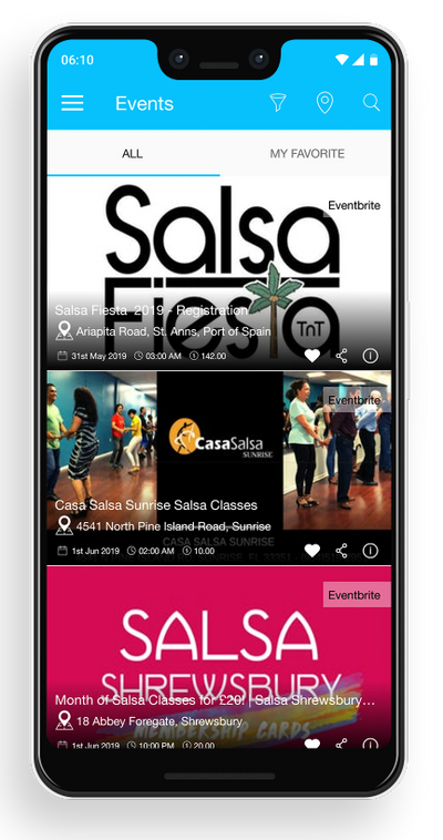 Salsa events near me