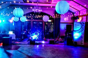 Band and DJ sound equipment / up-lighting