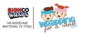Wrapping For A Cause - Cranial Band and Doc Band Wraps by SIGNCO