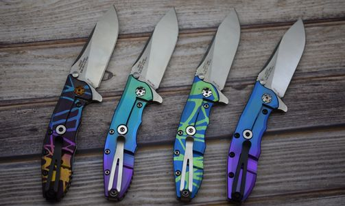 ZT0562TI anodized in many different colors.