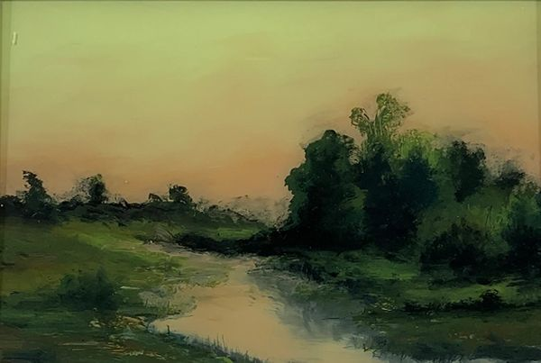 Sugar Creek Art Festival,  Fine Art, Fernando Cornejo, Landscape Art, Bloomington, Illinois, Sky, tr