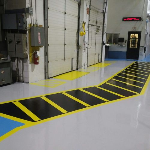 Epoxy Floor Painting Contractors of Offices Factory Plant Toronto. Toronto Painters Painting floors