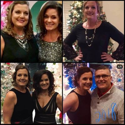 Jenny Grosche Transformation Tuesday post from December 11, 2018.