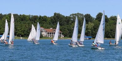 Walloon Sailors racing, teaching lessons
