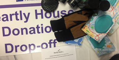 Bring your donations for Heartly House to Steiner House  any Tuesday 10 AM-1PM.