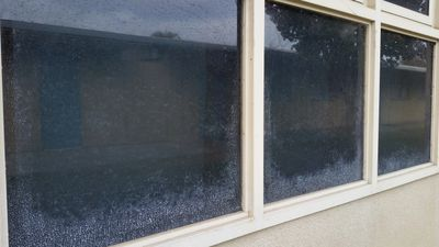 Hosing down or not washing your windows at all results in severe damage...Call Now!