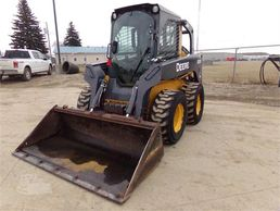 320D Skid steer 1000Hrs, Bucket and Forks Included. 2 speed Heat & A/C,  Good Condition,  $35000.00
