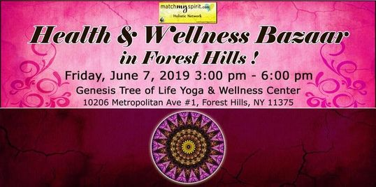 forest hills ny holistic, wellness events forest hill ny, queens holistic events, free queens events