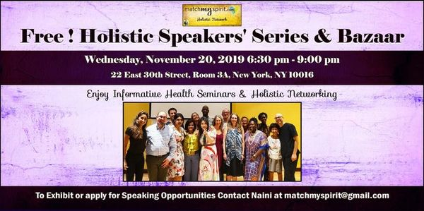 wellness events new york city , holistic nyc, free events nyc ,