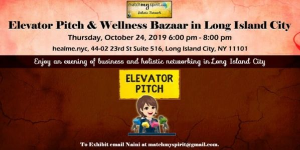 Holistic events in Long Is City ! .After work networking in Long Island City