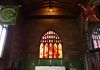 The Chapel of The Duke of Lancaster's Regiment altar. I really like this little window, it looks stunning with the light shining on it.