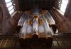 The Organ Pipes - During 2016 Manchester Cathedral had a new organ built. The cost was approx £2.6m. The originl organ suffered bomb damage in 1940