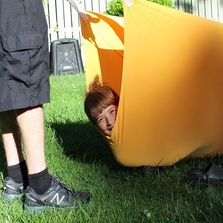 Therapeutic Sensory Tunnel for kids with Autism and ADHD, ADD and other special needs
