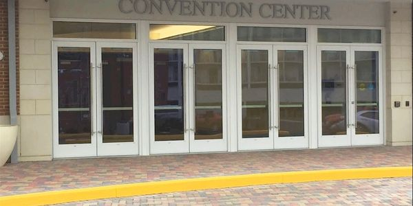 The newly renovated Rehoboth Beach Convention Center in Rehoboth Beach, Delaware.