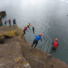 Stag Coasteering sessions in Torquay