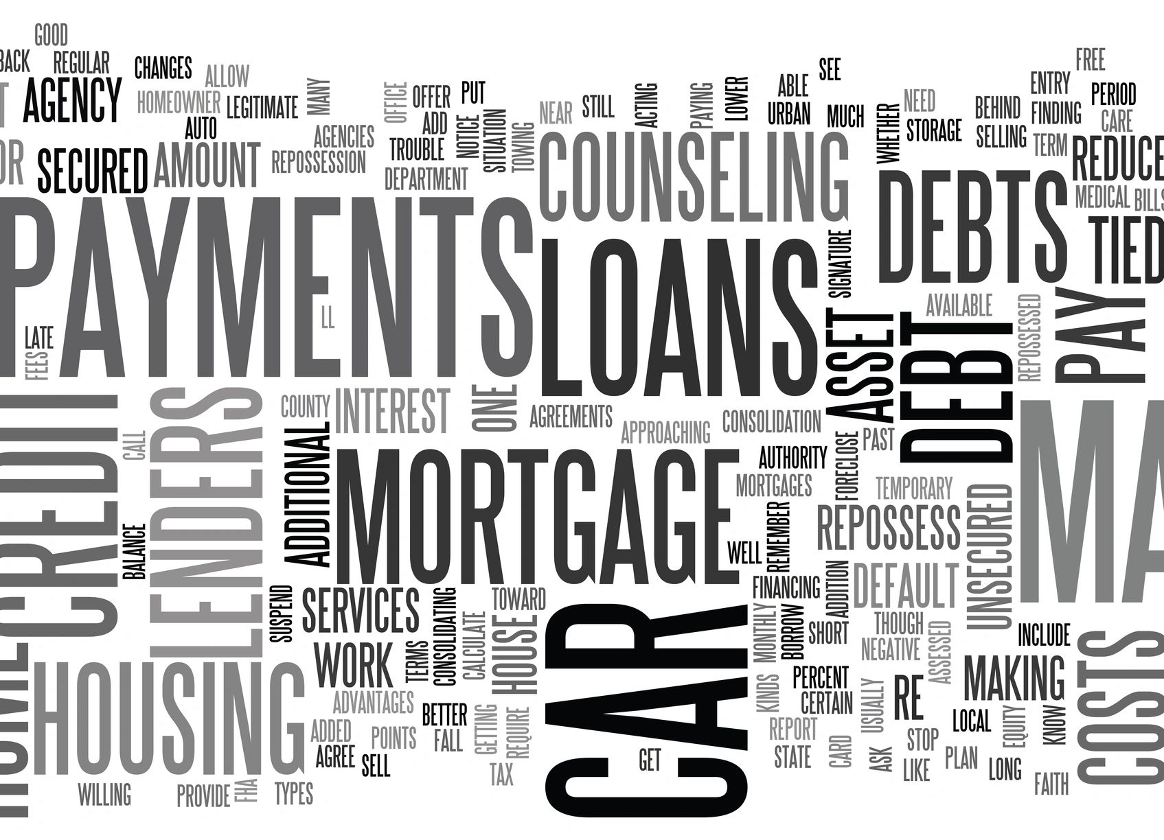 Financial counseling for debt, first time home buyer, mortgage, housing, Reverse Mortgages