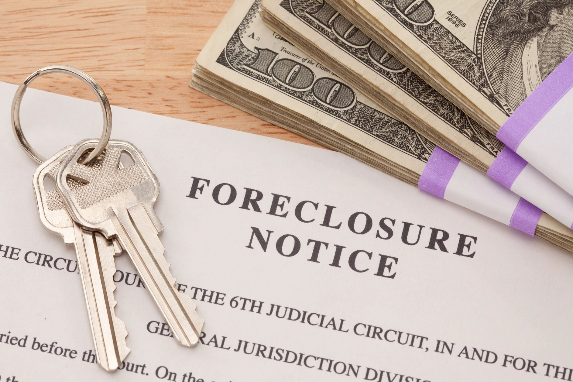 Foreclosure Notice for NJ Foreclosure Mediation