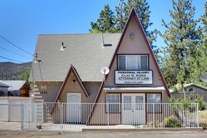 General commercial zoned property near high traffic intersection on the border of Big Bear Lake and