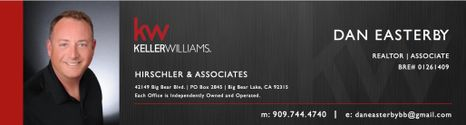 DANIEL EASTERBY KELLER WILLIAMS BIG BEAR LAKE