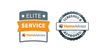We Are Screened And Approved By Home Advisor Have Earned The Elite Service Rating