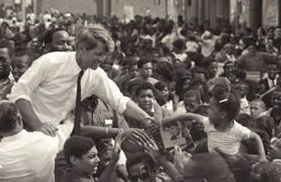 Bobby Kennedy , the power of the people.