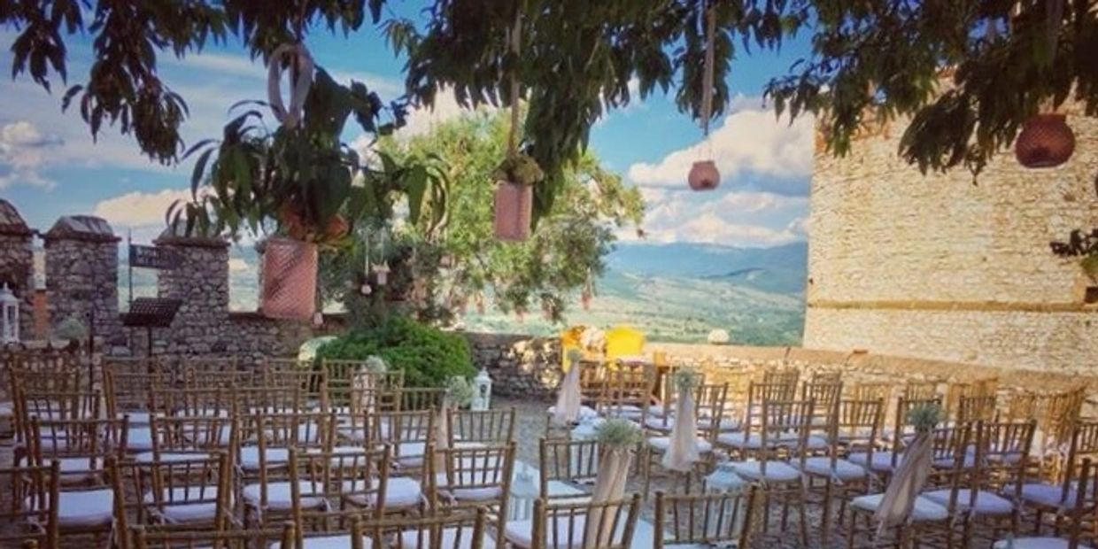 Italian Wedding at a castle